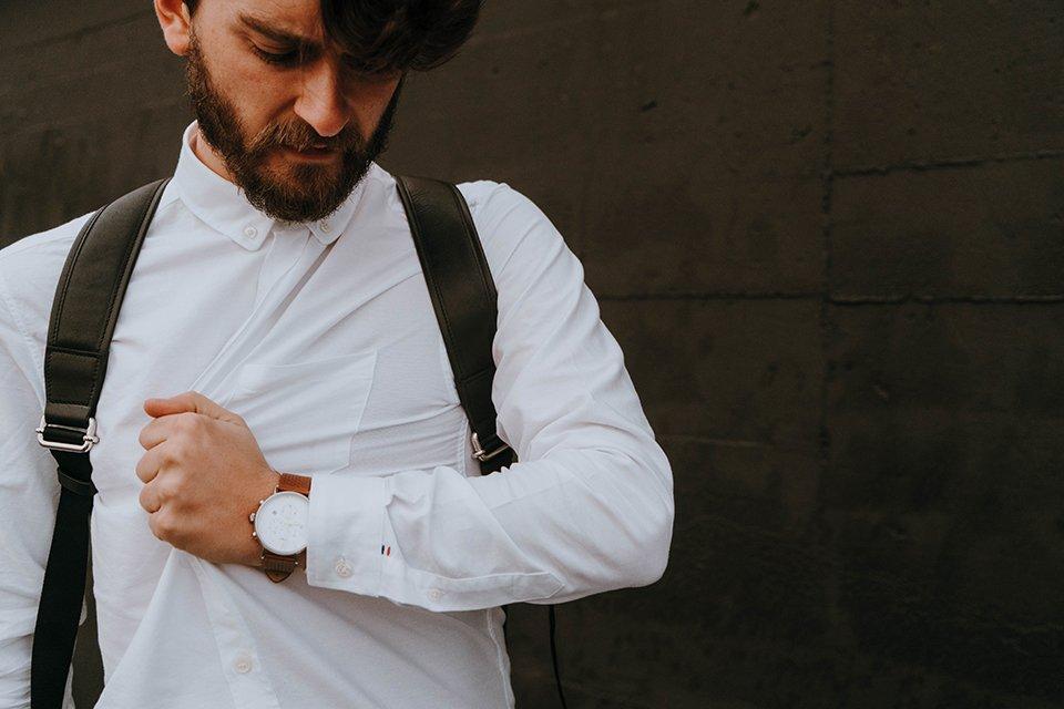 chemise oxford blanche fyu