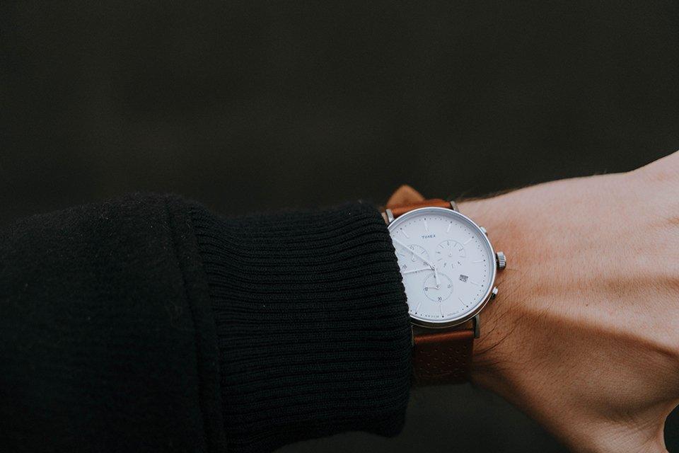 Focus montre Timex