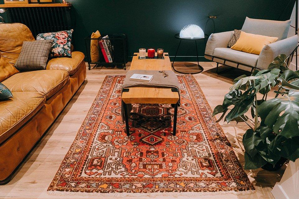 tapis table salon