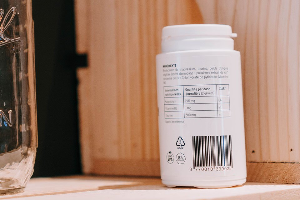 test et avis complements nutripure magnesium composition