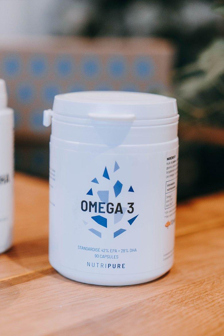 test et avis complements nutripure omega 3