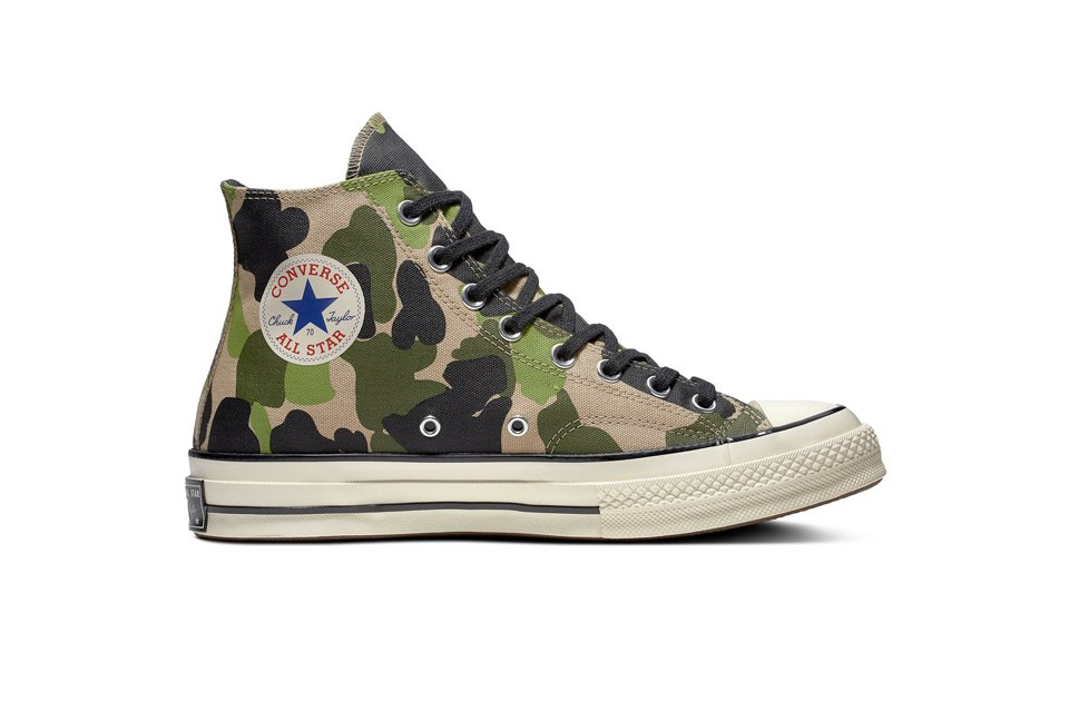 chaussure converse homme camouflage