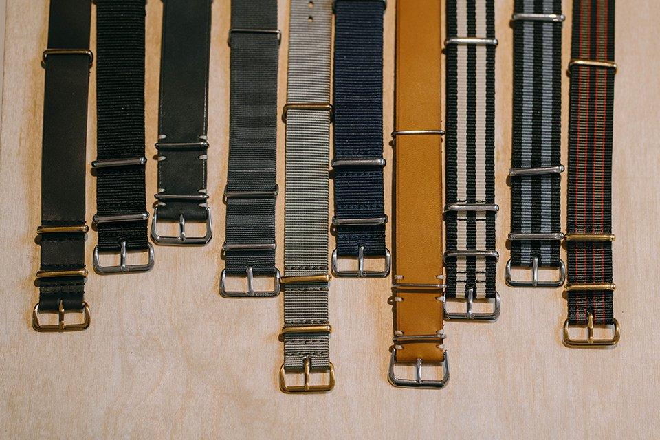 Differents bracelets NATO