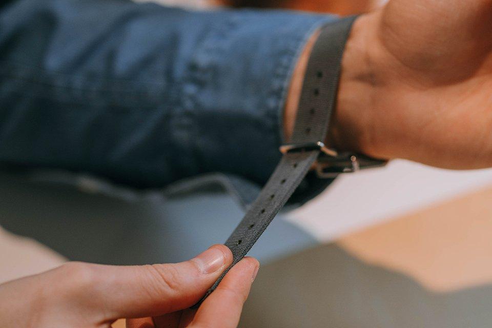 fermer bracelet nato