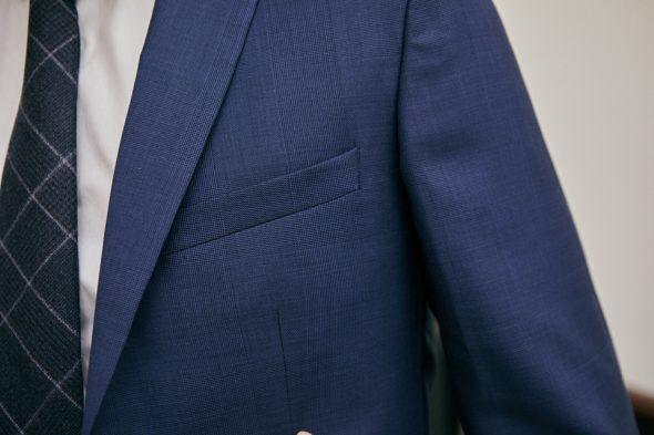 Costume Octobre Cravate