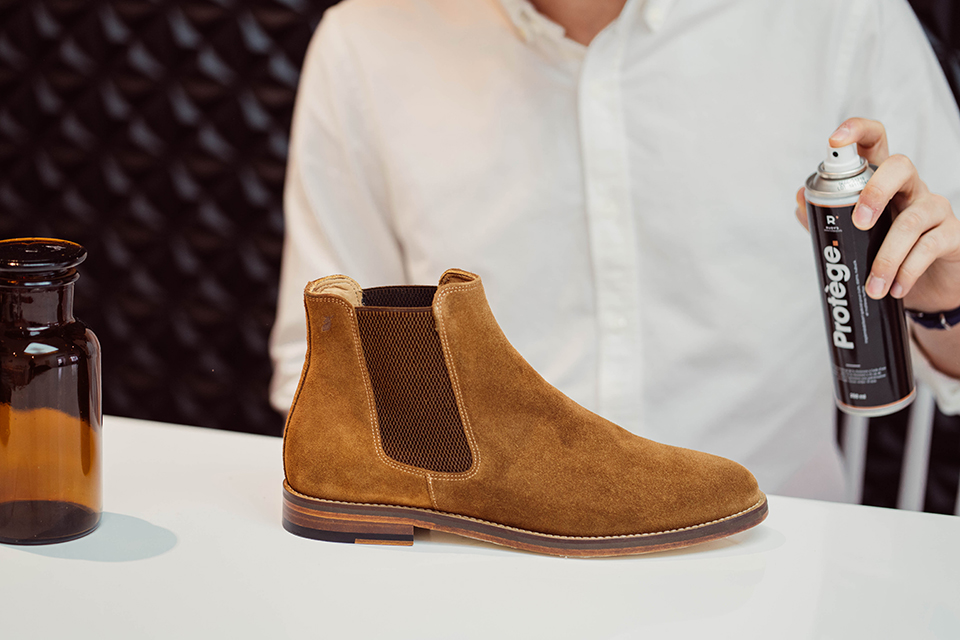 Entretien Cuir Impermeabilisant-Chaussure