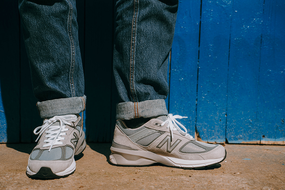 test avis new balance 990v5