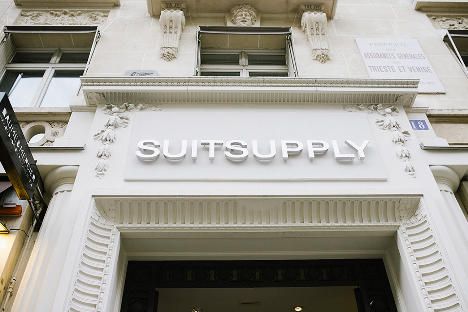 Boutique SuitSupply Paris