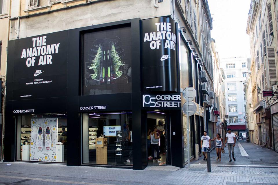 Corner Street Marseille