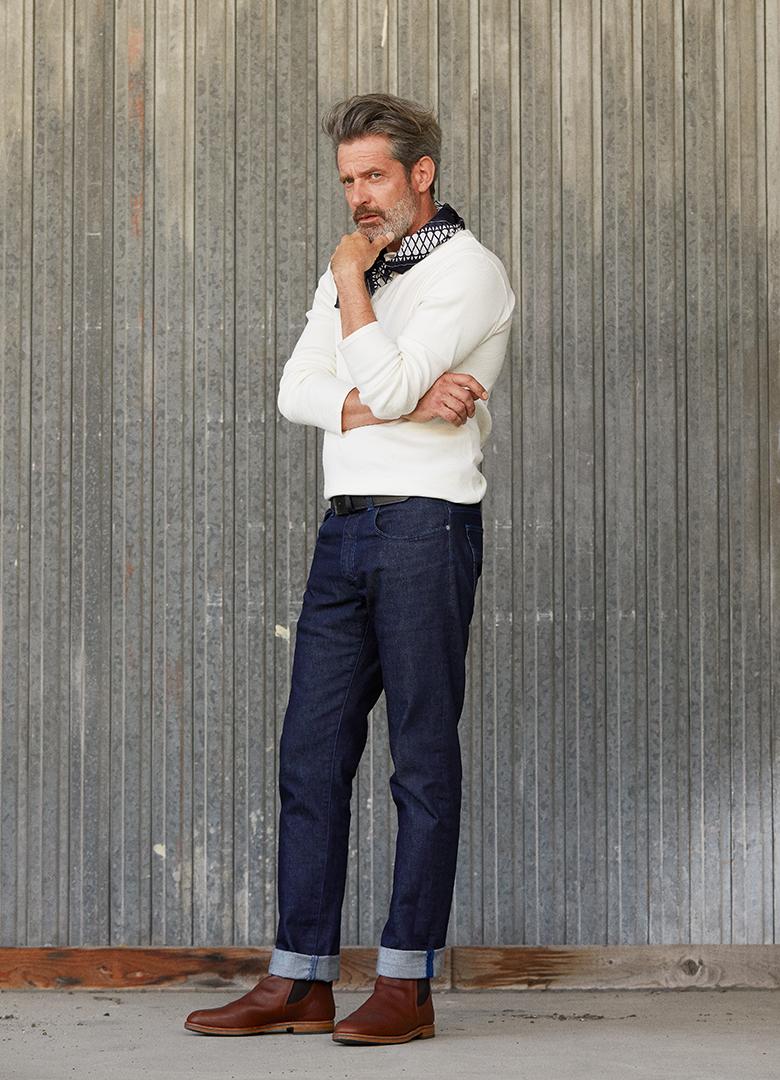Jeans Tuffery Alpine Portrait Homme