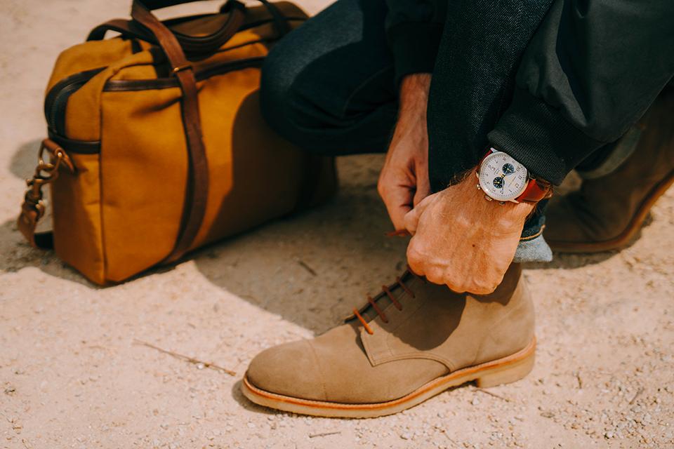Prevalaye chaussures montre sac
