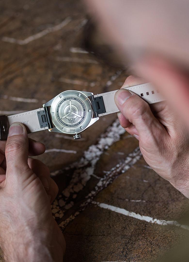 Tag Heuer Autavia Isograph bracelet changement