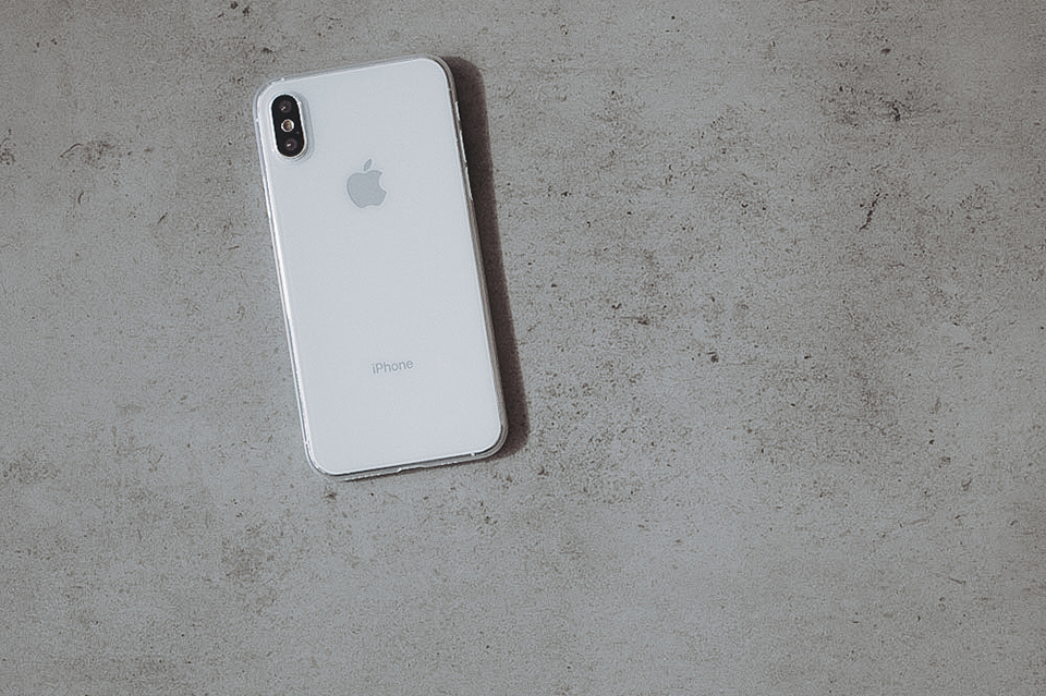 Ultra Thin iPhone X Case Clear Floor