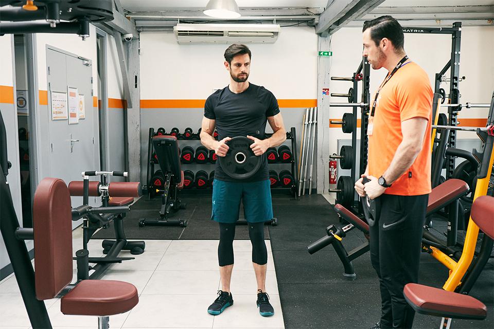 echauffement circuit training pour prendre du muscle biceps 2