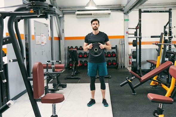 echauffement circuit training pour prendre du muscle biceps
