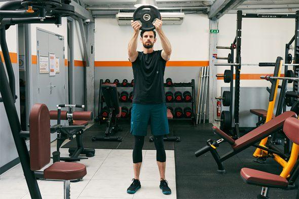 echauffement circuit training pour prendre du muscle epaules
