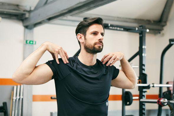 echauffement circuit training pour prendre du muscle rotation epaules