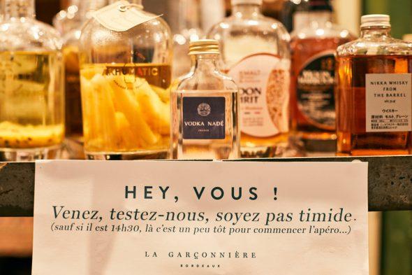 Garconniere Bordeaux Degustation