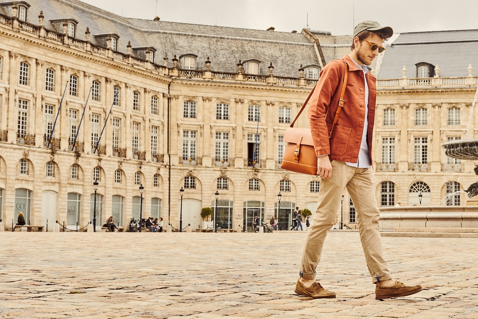 Look Bordeaux Veste
