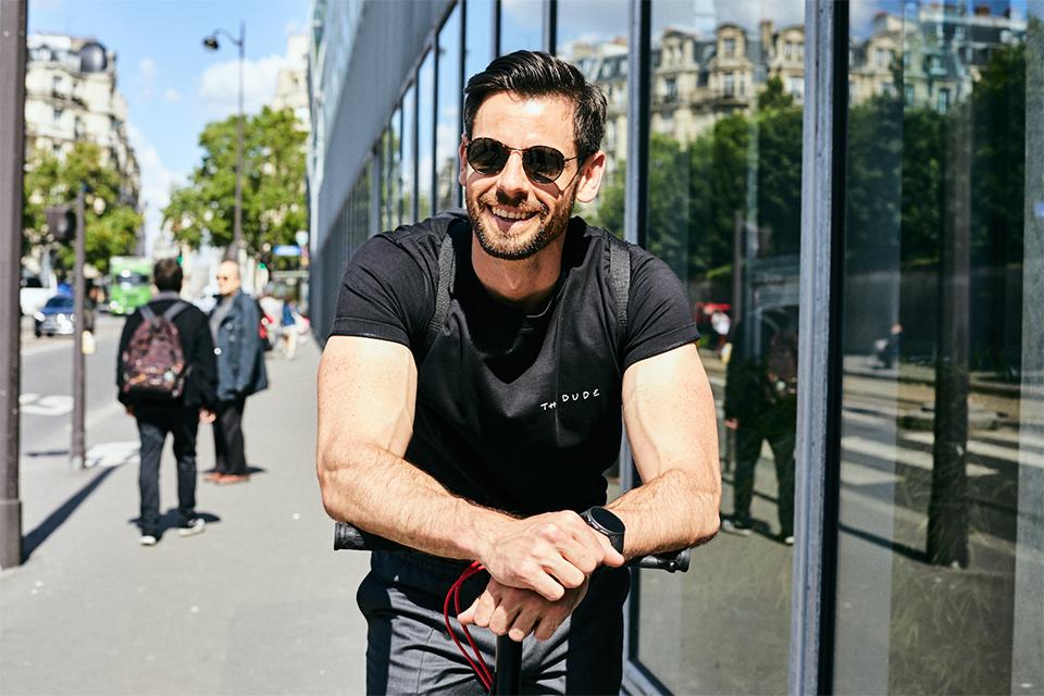 look max trottinette electrique t shirt maison labiche