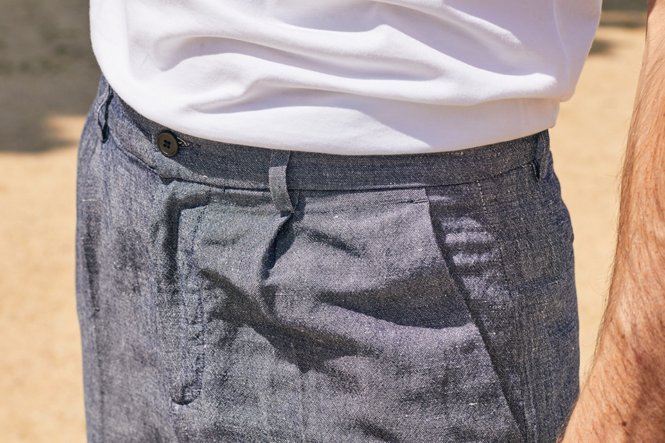 Pantalon Costume Exception Passants