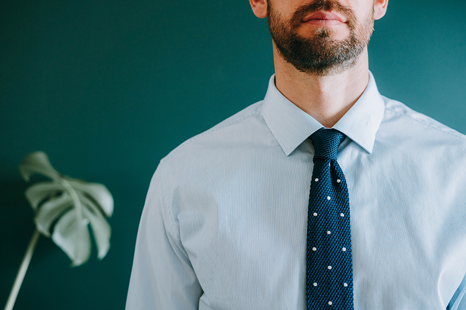 Porter Cravate Proportions