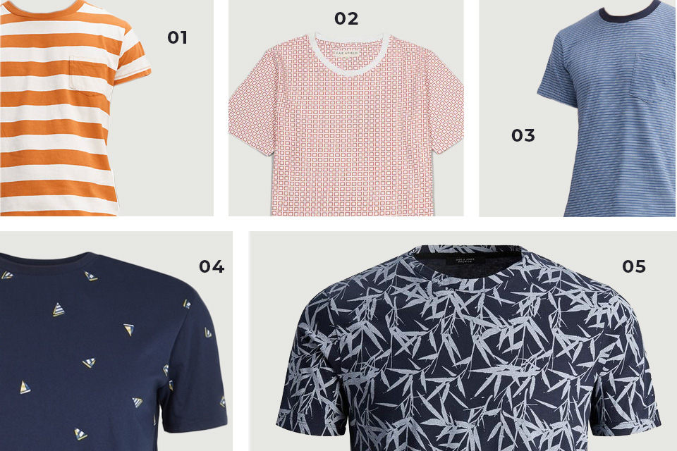 selection soldes t shirts motifs ss19