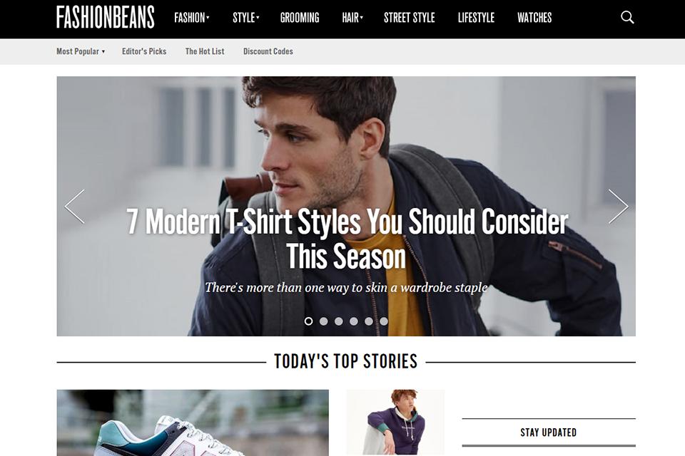 Blog Anglais Fashion Beans