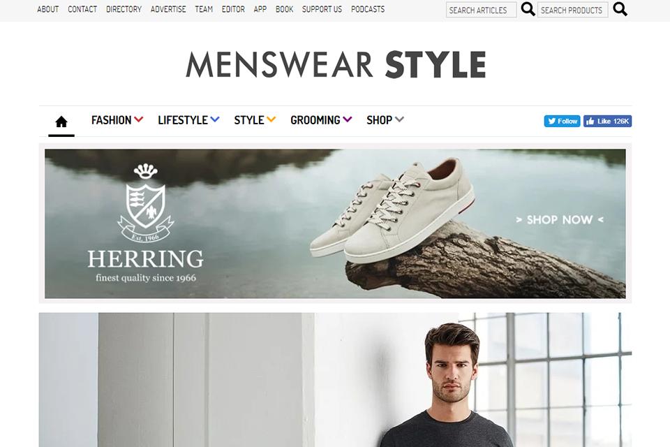 Blog Anglais Menswear Style