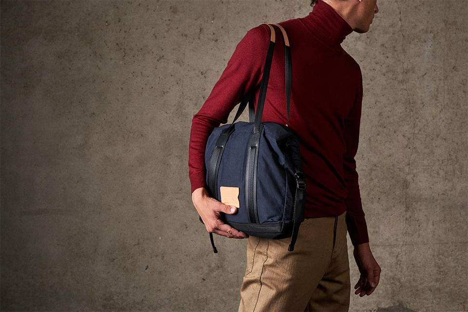 briefcase bleu de chauffe teklight