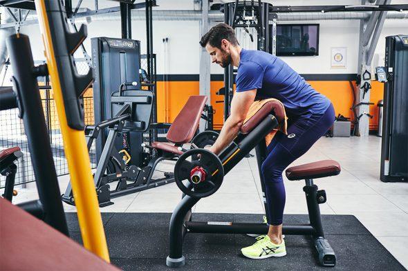 exercices pour developper ses biceps curl pupitre position depart