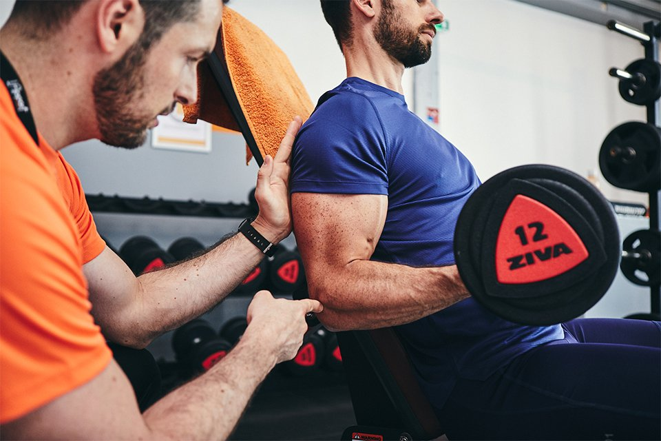 exercices pour developper ses biceps position coude