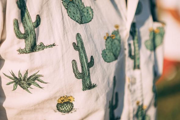 Festival look chemisette cactus Timono