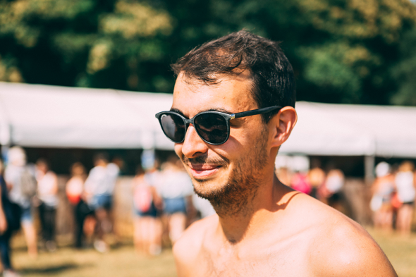 Festival look lunettes inconnu