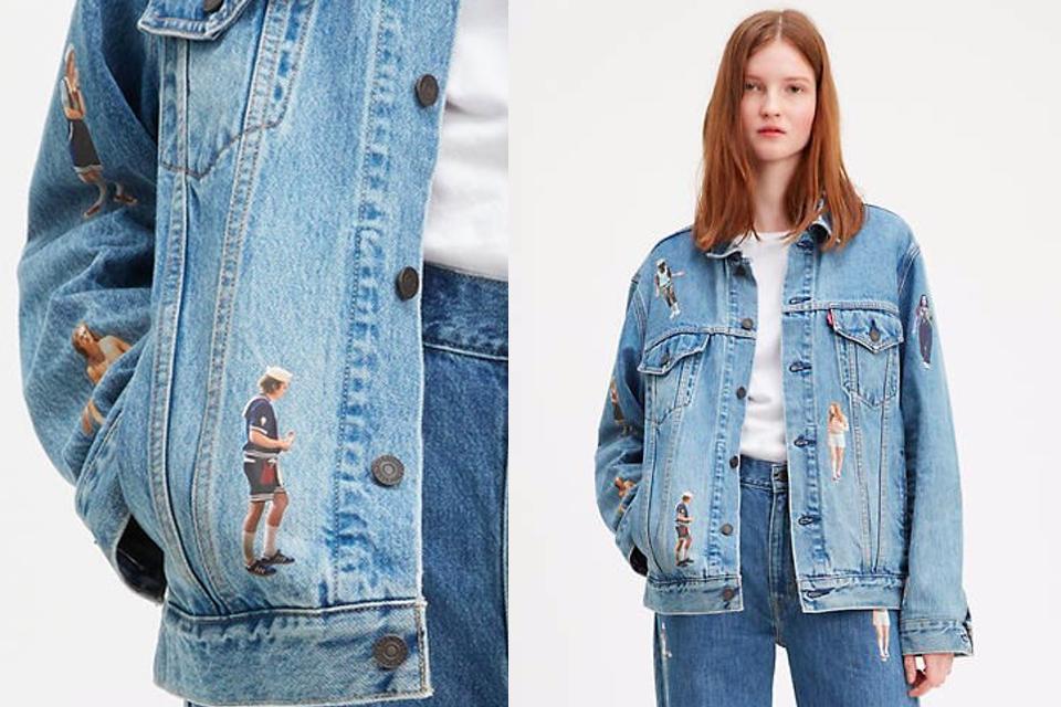 LEVI'S x Stranger Things collab capsule veste jean
