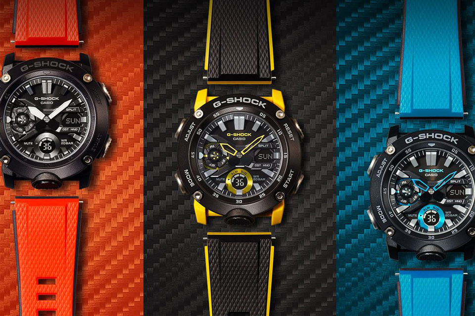 Montre G-Shock GA-2000 News 3 coloris