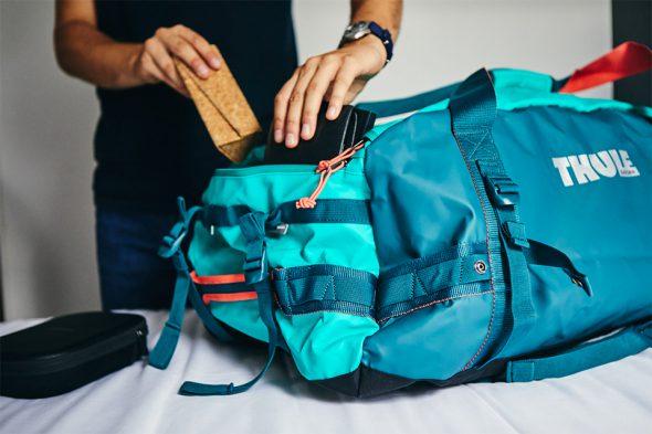 Rangements extérieurs valise souple