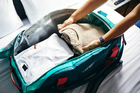 Ranger valise souple