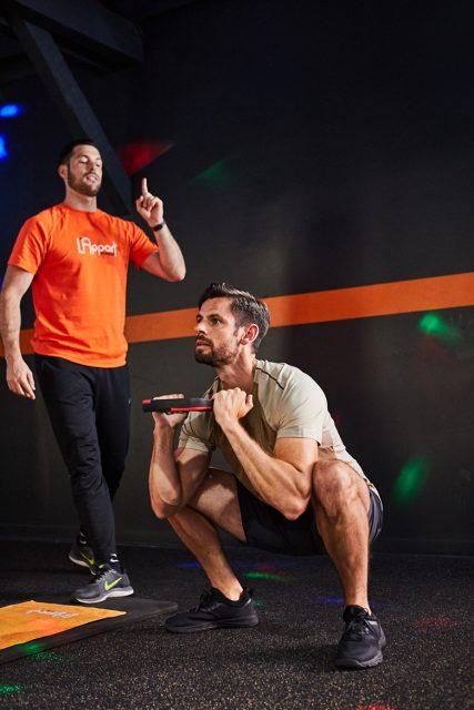test et avis activité hiit squat développé 1