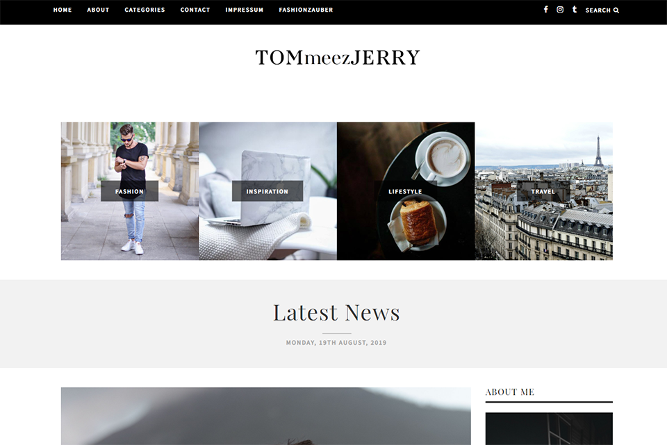Blog allemand TOMmeezJERRY