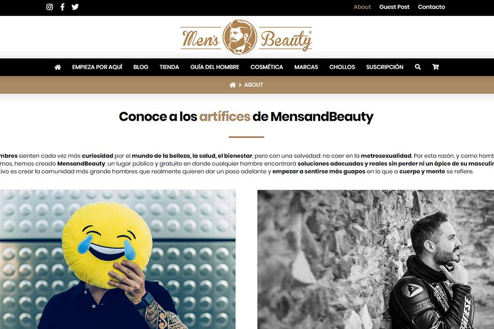 Blog espagnol MensandBeauty