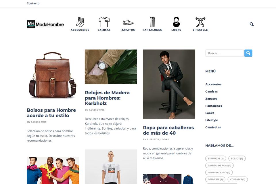 Blog espagnol ModaHombre