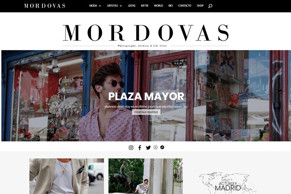Blog espagnol Mordovas