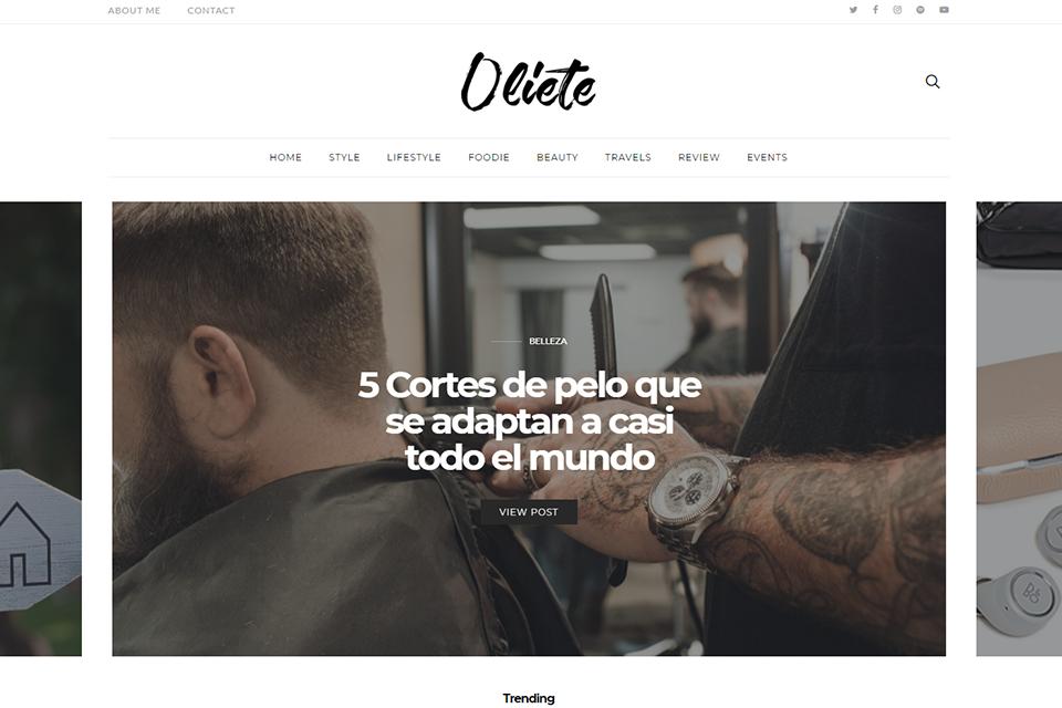 Blog espagnol Oliete World