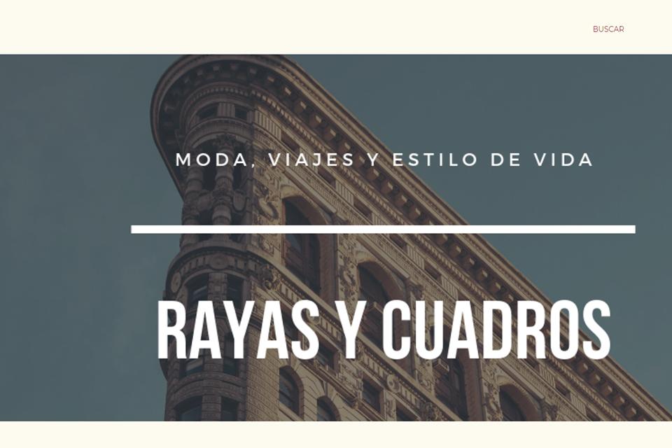 Blog espagnol Rayas Y Cuadros