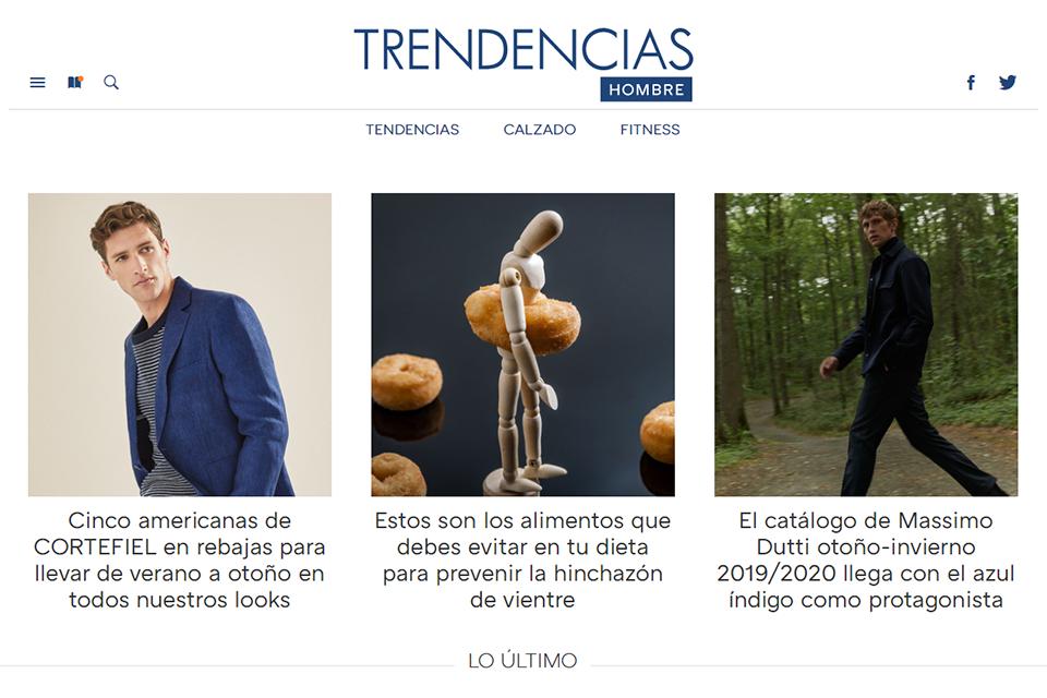 Blog espagnol Trendecias Hombre
