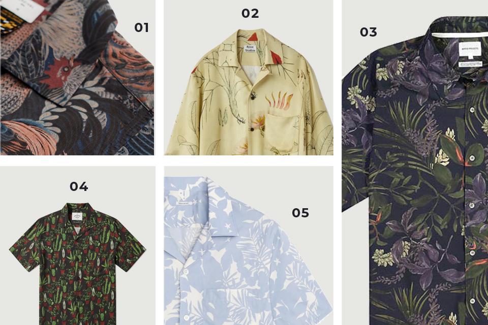 Chemises manches courtes motifs SS19