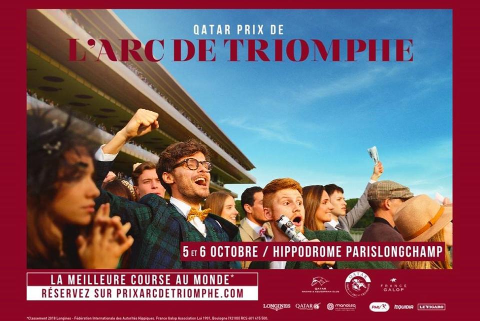 Affiche Officielle Qatar Prix de l'Arc de Triomphe 2019