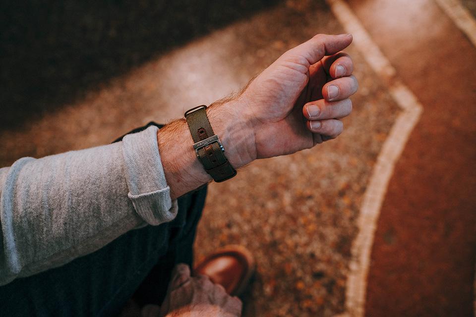 Look Alaska montre hamilton khaki bracelet