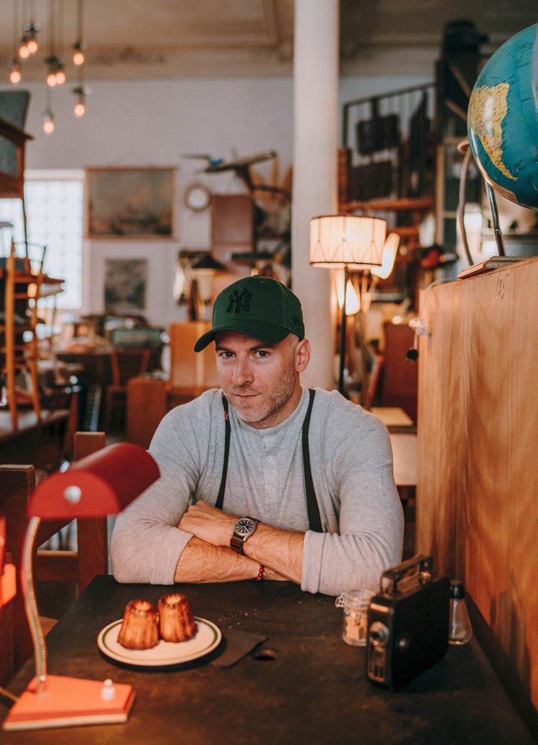 Look Alaska table portrait